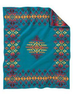 Four Winds Pendleton blanket  #textile