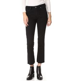 Paige Collette Crop Flare Jeans