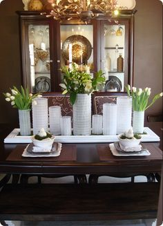 A #spring table setting!