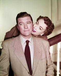 Dennis Morgan & Joan Crawford
