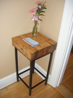 Another pallet side table