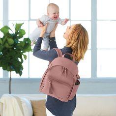 Skip Hop Greenwich Changing Backpack Dusty Rose   JoJo Maman Bébé