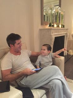 Simon Cowell Shares Adorable Photos Of Himself And Little Eric