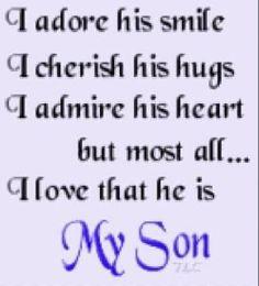 Mama's Boy : )