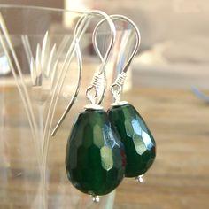 Handgemaakte oorbellen groen Jewels with Flair - oorbellen edelsteen