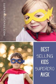 Our boys superhero masks are the perfect accessory for your little superhero. Combine our superhero masks with your favorite superhero cape to have the most unique and well accessorized halloween costume on the block. Our handmade superhero masks are comfortable and come with an adjustable head strap to fit any age and size. Check out one of our 14 colors at superkidcapes.com. Unique Costumes, Scary Costumes, Boy Costumes, Super Hero Costumes, Costume Ideas, Superhero Dress Up, Superhero Party, Superhero Capes For Kids, Montage Photography