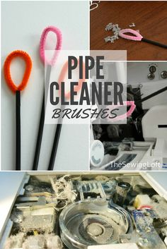Sewing Machine Pipe Cleaner Brush - The Sewing Loft