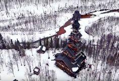 Inside Alaska's Tallest, Craziest Cabin, Talkeetna, Alaska
