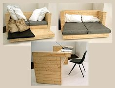 want! space saver bed