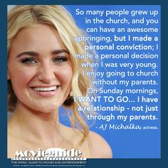 AJ Michalka, actress. #GraceUnplugged #MovieguideAwards winner!