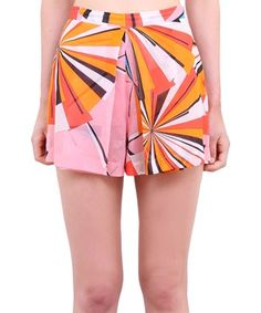 ee0ea01f01bf EMILIO PUCCI High-waisted cotton shorts.  emiliopucci  cloth  shorts