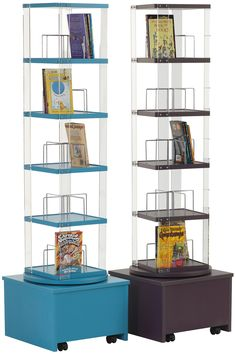 Order A Mobile Library Spinner From Herok UK Educational Furniture Suppliers Spinners