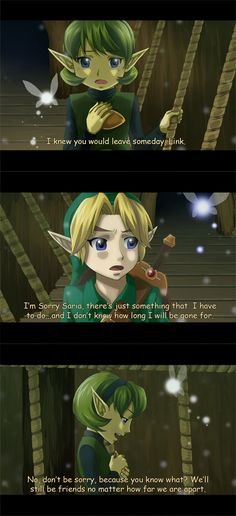 Zelda OOT Anime Screenshots by ~mishelly88 on deviantART