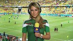 MEXIKO-REPORTERIN HUPPENKOTHEN Schönstes WM-Gesicht wird DFB-Pokal-Losfee