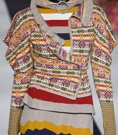 patternprints journal: PRINTS, PATTERNS, TEXTURES AND TEXTILE SURFACES FROM LONDON FASHION WEEK (WOMENSWEAR F/W 2015-16) / Vivienne Westwood Red Label.