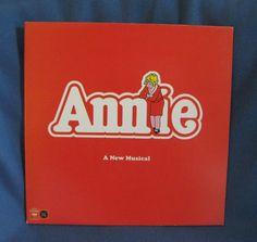 Vintage Annie  A New Musical OBC Vinyl LP Record by sweetleafvinyl, $6.99