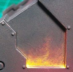flame painting tutorial 40k legion of the damned 6