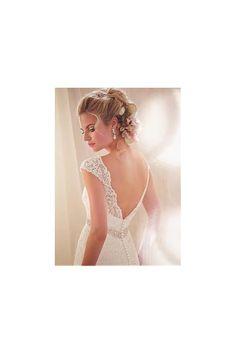 Vestido de novia de encaje 2015 espalda en V - Vestidos de Novia Gusewell