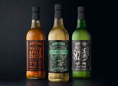 Henderson's Cider Redesign on Packaging of the World - Creative Package Design Gallery