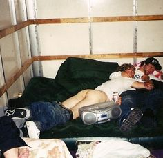 Ryan Dunn and Bam really know how to party.