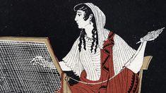 Pénélope, l'ardente Caricature, Penelope, James Joyce, Episode 3, Illustration, New Love, Caricatures, Illustrations, Caricature Drawing