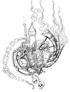 Steampunk Heart by anatane