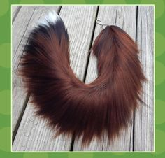 26 inch realistic wolf yarn tail by Black-Heart-Always on DeviantArt