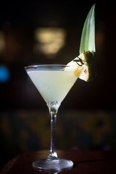The Coco Palm martini at Spoto's Oyster Bar