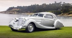 A 1937 Horch 853 sport cabriolet with coachwork by the Voll & Ruhrbeck Company of Berlin