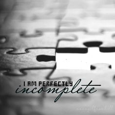 I am perfectly incomplete - Jessie J, Masterpiece