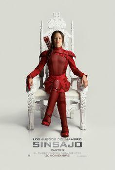 Katniss Sinsajo Parte 2 Trono