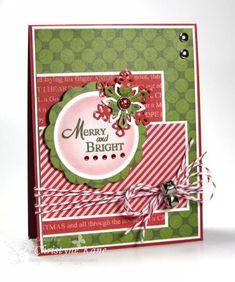"""Merry & Bright"" Christmas Card..."