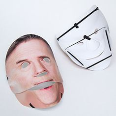 PopMask: Upload a photo and create your custom mask complete with articulated jaw! #Halloween #Mask #Photography