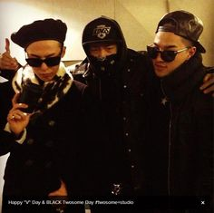 GD, Teddy, and Taeyang!