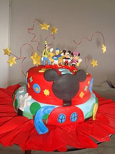 My Mickey Mouse Cake