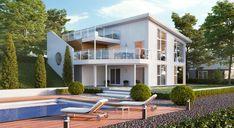 Signatur 302 stor og moderne enebolig Home Fashion, Mansions, House Styles, Home Decor, Modern, Decoration Home, Manor Houses, Room Decor, Villas