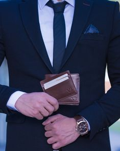 bcda35bb3b We have decided to help you enjoy a fresh lease by designing a unique range  of men s leather wallets. What others are saying. Von Baer ...