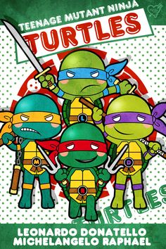 Teenage Mutant Ninja Turtles、TMNT