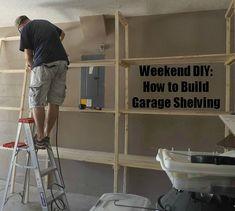DIY: How to Build Garage Shelving | Premeditated Leftovers