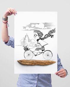 Louis Charden bakery by Backbone Branding, via Behance