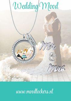 Moodlockers, jouw persoonlijke sieraad waarvan je de inhoud kunt wisselen. Open je locker, wissel je moodies, en laat zien waar jij voor staat! Wedding Mood www.moodlockers.nl