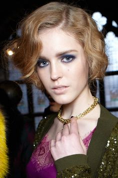 Fall 2012 Fashion Beauty - Best Hair and Makeup at New York Fashion Week - Harper's BAZAAR