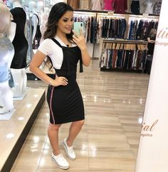 Plus size outfits Girly Girl Outfits, Modest Outfits, Classy Outfits, Skirt Outfits, Modest Fashion, Women's Fashion Dresses, Beautiful Outfits, Girl Fashion, Cute Outfits