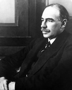 """John Maynard Keynes - """"For at least another hundred years we must pretend to ourselves and to everyone that fair is foul and foul is fair; for foul is useful and fair is not. Avarice and usury and precaution must be our gods for a little longer still."""""""