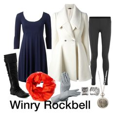 """Winry Rockbell"" by jellymae ❤ liked on Polyvore"
