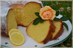 Jogurtovo-citronová bábovka - Powered by Cornbread, Cake, Ethnic Recipes, Food, Lemon, Pie Cake, Pastel, Meal, Eten