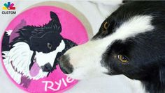 PrideBites custom toy - I love that you can customize not only with the name, but also your pet's picture.