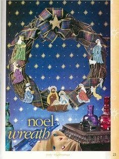 Plastic Canvas Ornaments, Plastic Canvas Crafts, Xmas Ornaments, Plastic Canvas Patterns, Easy Christmas Crafts, Christmas Sewing, Christmas Nativity, Christmas Cross, Nativity Crafts