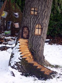 Exceptional Examples of Tree Carving Art (2)