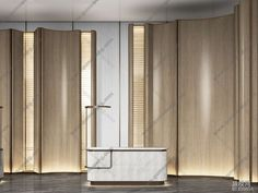 酒店大堂前台接待 - 趣模网 Divider, Room, Furniture, Home Decor, Bedroom, Rooms, Interior Design, Home Interior Design, Arredamento